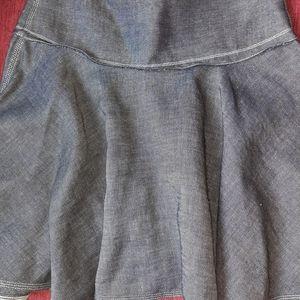 Rag and bone denim skirt